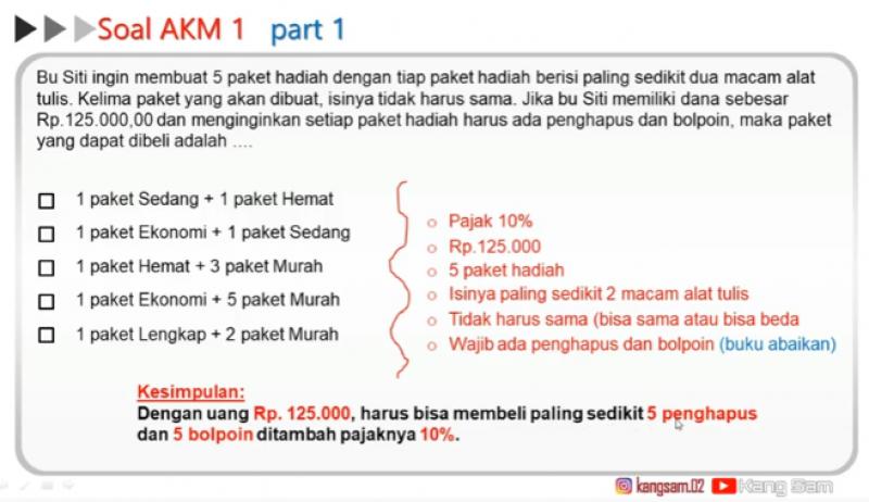 Get Soal Akm Guru Ekonomi Sma Images - OPS SEKOLAH KITA